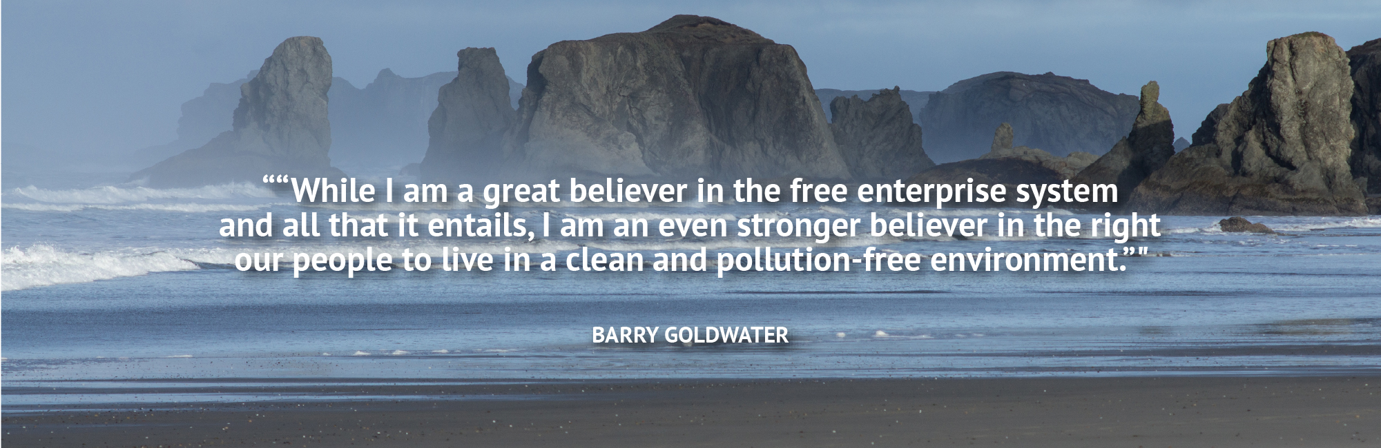 Barry Golwater Quote